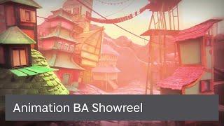 Animation BA Showreel