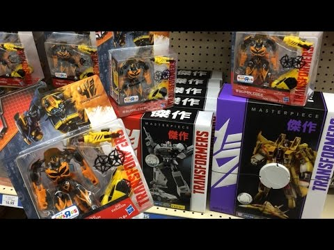 TRANSFORMERS INSIDER: Masterpiece Prowl, Sunstorm, Toysrus Exclusive TF4 Bumblebee Movie toys store