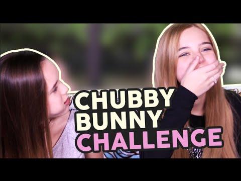 Chubby Bunny Challenge ft Saraí Meza♡  Laila Montero