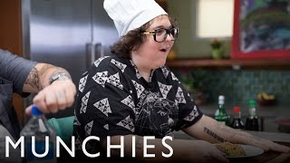 Uni, Cheap Noodles, and Porterhouse Steak: Fat Prince with Adam Pally & Kris Yenbamroong