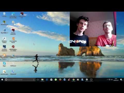 le développeur et moi sur son jeux