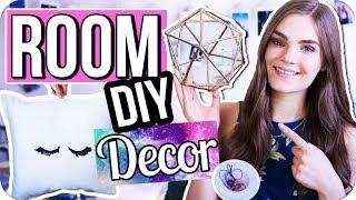 3 easy Room Decor DIY's unter 5€! Tumblr & Pinterest Inspired Zimmer Dekoration // I'mJette
