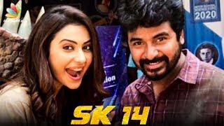 Sivakarthikeyan Resumes his Mega Budget Project | Rakul Preet Singh | SK14 Movie