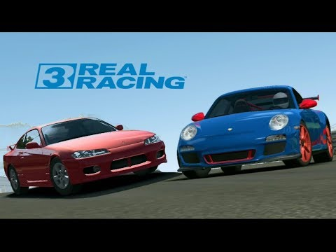REAL RACING 3 GAMEPLAY - PORSCHE 911 GT3 RS & NISSAN SILVIA S15 INDY CIRCUIT BRAND HATCH
