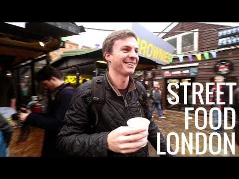 LONDON STREET FOOD in CAMDEN TOWN (ft. Thomas Alex Norman)
