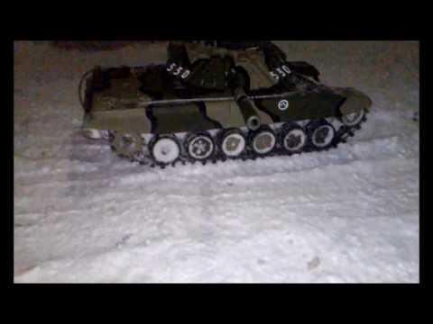 Радиоуправляемый танк Полукопия Т 80УК