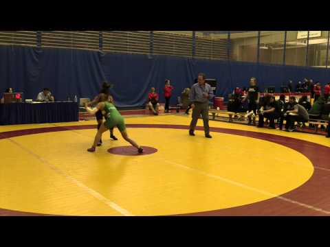 2015 Canada West Championships: 55 kg Julianna Bouwers vs. Laryssa Barry