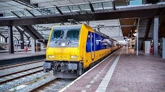 4K Cab Ride NL Amsterdam - Rotterdam - Watergraafsmeer / HSL / Storm Ciara / 09-02-2020