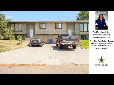 113 S Moen, Spokane Valley, WA Presented by Five Star Real Estate Group.