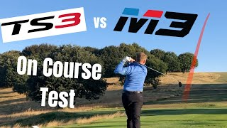 Titleist TS3 Driver vs Taylormade M3 Driver - On Course Test