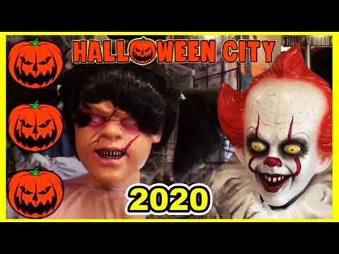 Halloween City 2020 HALLOWEEN CITY ALREADY OPEN!? Store Tour   Halloween 2020 Themes