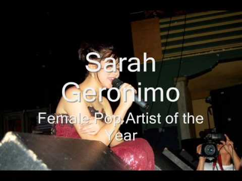 PMPC 1st Star Awards for Music  2009 Winners Regine - Female artist recording of the year