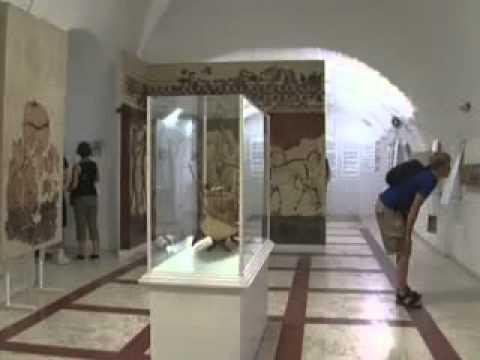 Tours-TV.com: Museum of Prehistoric Thira - YouTube
