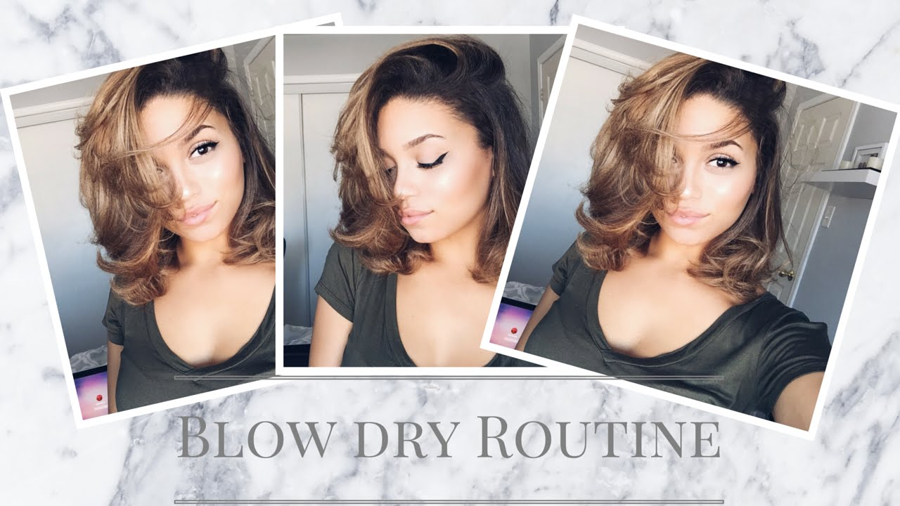 How To Blow Dry Short Curly Hair Ashley Bloomfield Youtube