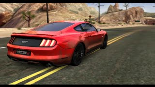 Asphalt 8 - Ford 2015 Mustang test cup (1:43.382)