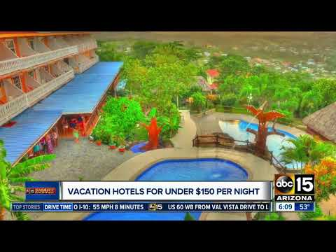 Vacation hotels for under $150 per night