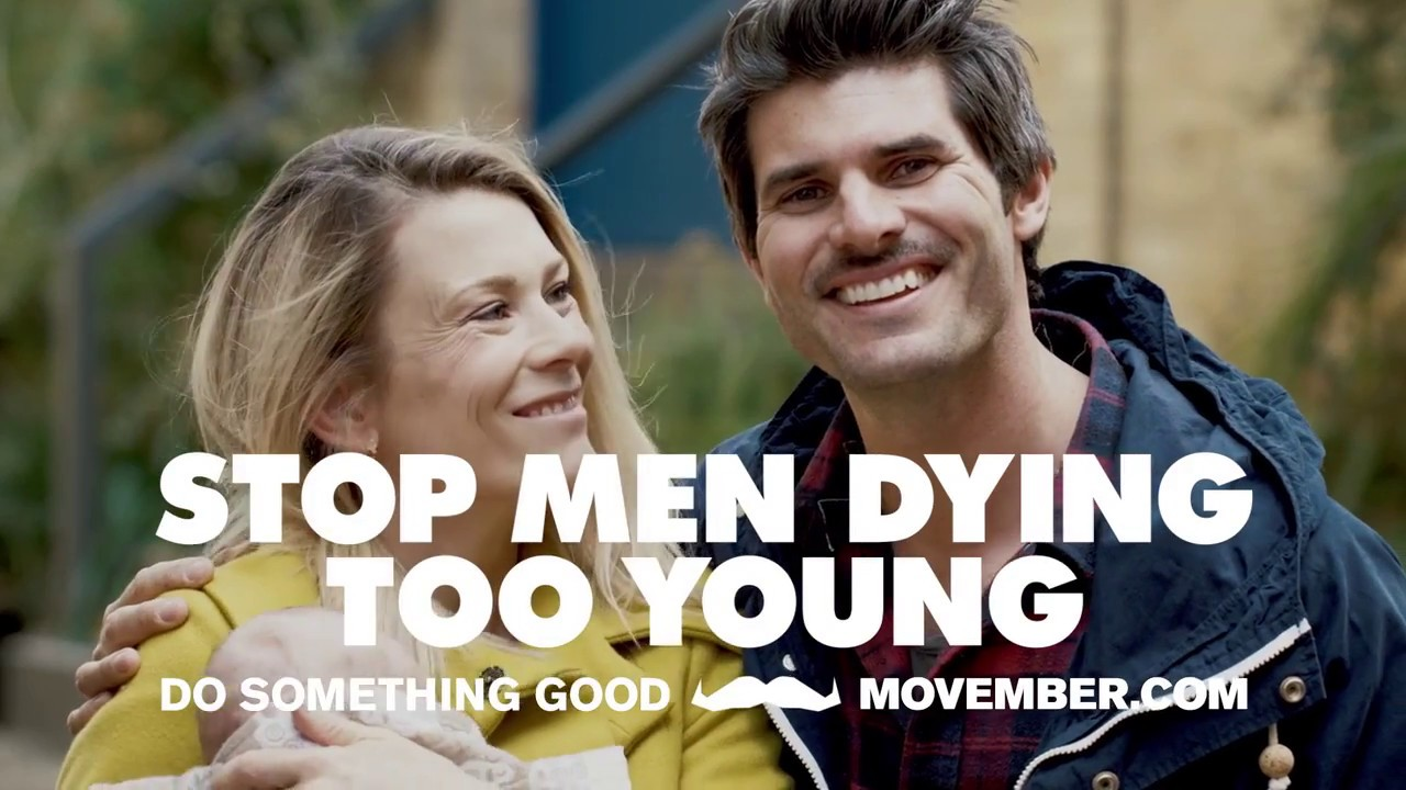 Movember 2017: Stop Men Dying Too Young - 30 Second