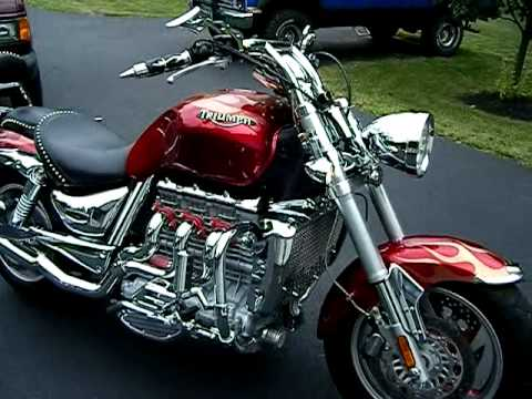 2005 triumph rocket iii - 2300cc - 140 c.i. custom - youtube