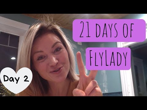 21 Days to a Clean Home | Day 2 | Dress to shoes