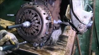Установка сцепления Renault Megane 2