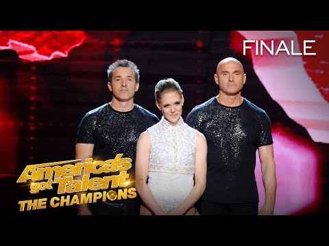 Sandou Trio Russian Bar Place 5th - America's Got Talent: The Champions