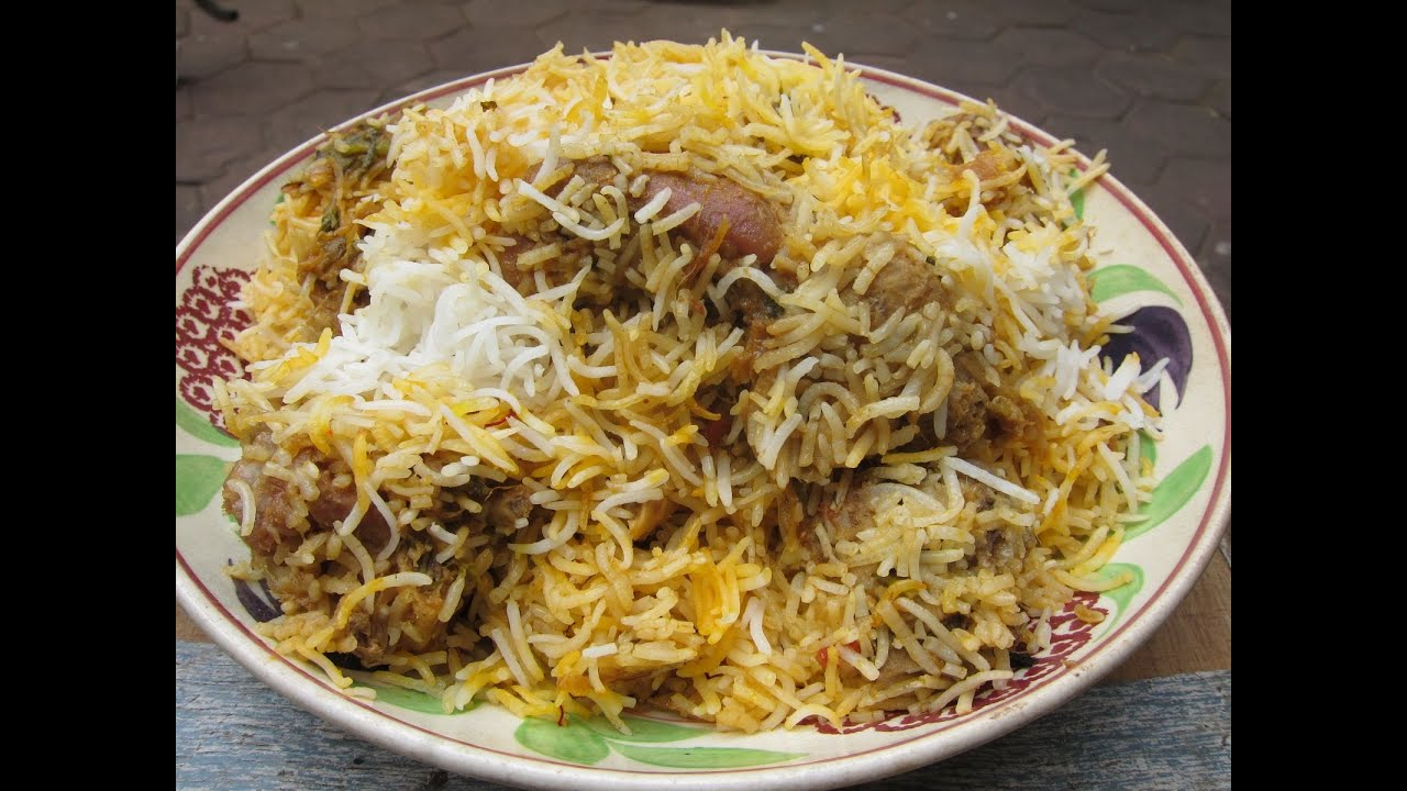 Image result for hyderabadi chicken biryani