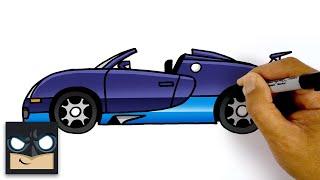 How To Draw A Bugatti Veyron | Step By Step Tutorial
