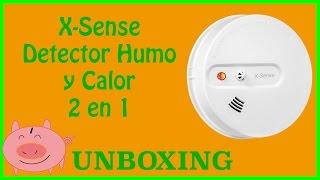 Unboxing X-Sense Detector de Humo y Calor con Alarma 2 en 1