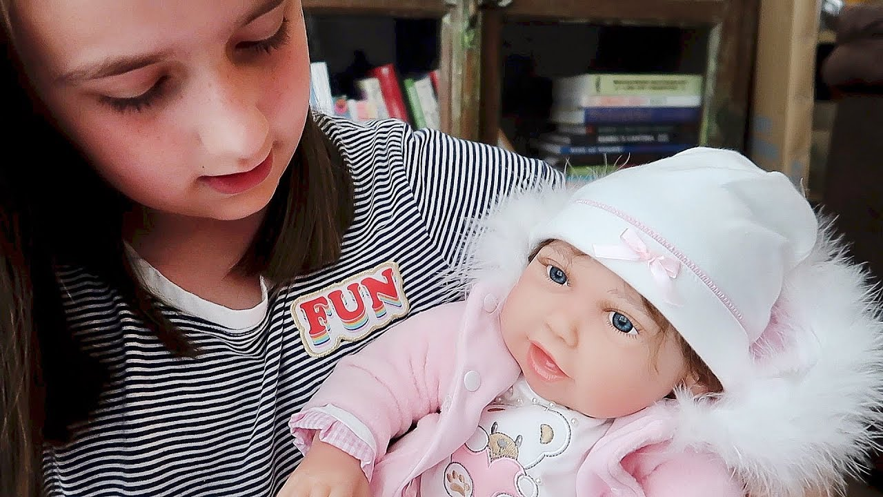 c9c6d9a43489 Reborn Baby Doll Unboxing Madison Gets a LIFELIKE Cuddle Bear Bella from Paradise  Galleries