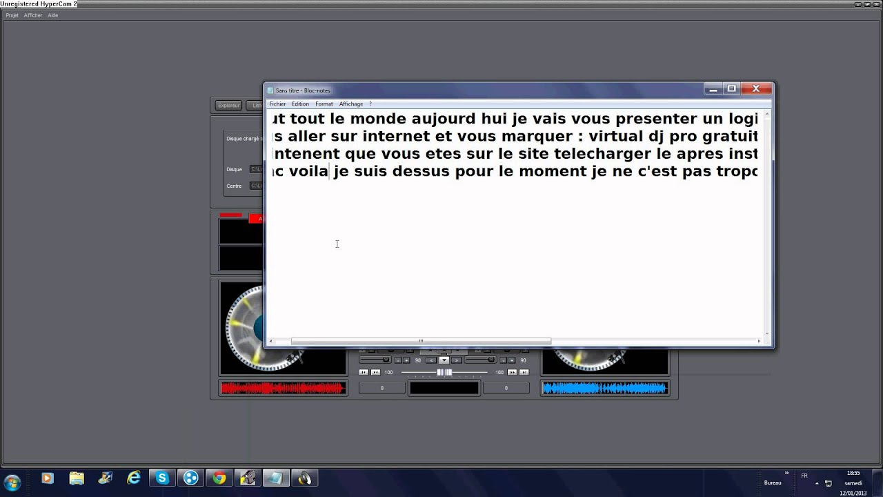 tuto logiciel de remix sur pc le nom et  u0026quot dj pro x u0026quot