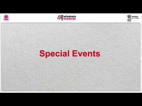 Celebrating Special Interest Events in India and the World