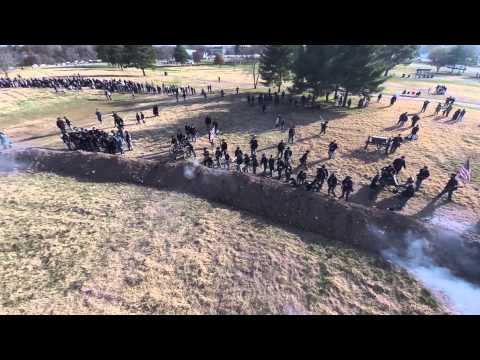 Battle of Franklin Reenactment on November 15, 2014 at Carnton Plantation in Franklin, TN