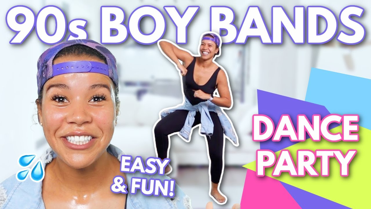 Indoor Full Body Fat Burn 90's Boy Bands Dance Party Workout   growwithjo
