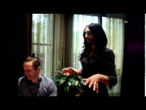 Conchita Wurst: Rise Like A Phoenix Unplugged, Unrehearsed, Unannounced!
