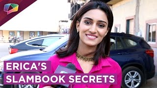 Erica Fernandes Shares Her Slambook Secrets | Exclusive | India Forums