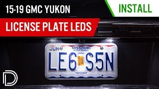 homepage tile video photo for How to Install 2015-2019 GMC Yukon License Plate LEDs | Diode Dynamics