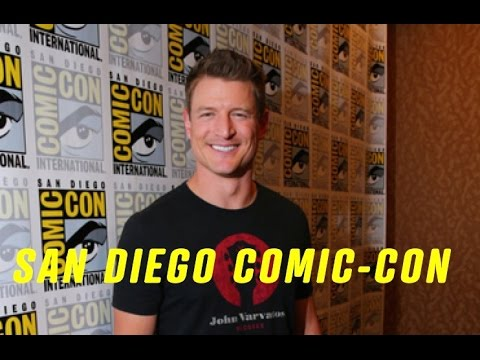 Philip Winchester THE PLAYER Comic Con 2015 Interview