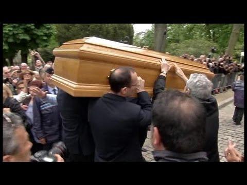 Funérailles de Georges Moustaki au Père Lachaise - 27/05