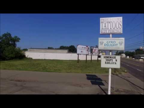 GYRO DELIGHT- Perry township - Massillon Ohio - aerial video-