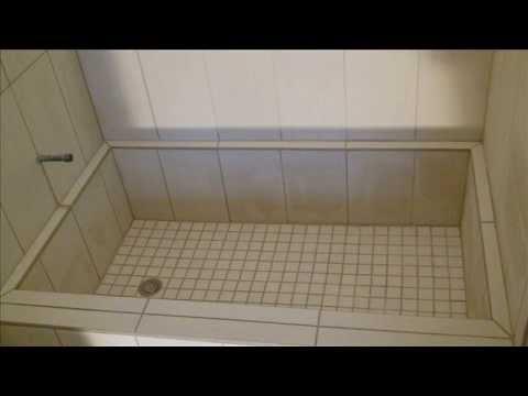 ROMAN STYLE SHOWER, TUB & TILE INSTALL - YouTube