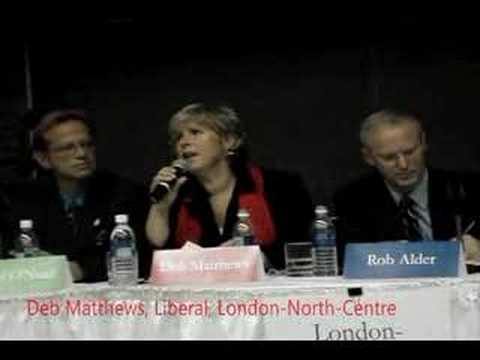 Ontario Election 2007 Health Care Debate: Priorities