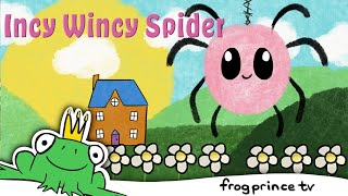 Incy Wincy Spider | Nursery Rhymes & Kids Songs by Frog Prince TV