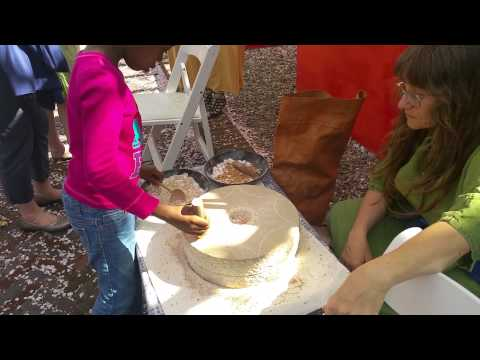 Quern - for grinding grains