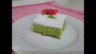 ıspanaklı pratik pasta nasıl yapılır/ıspanaklı kek tarifi/mutfağa dair