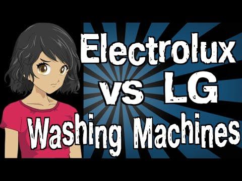 Electrolux vs LG Washing Machines