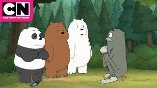We Bare Bears | Charlie's Snake Children | Cartoon Network