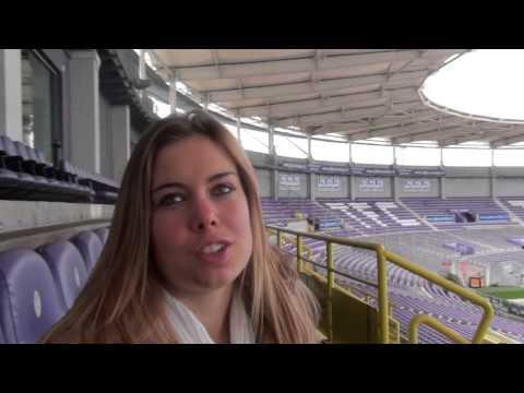 Anais Arcambal du Toulouse FC soutient le Défi des Lions