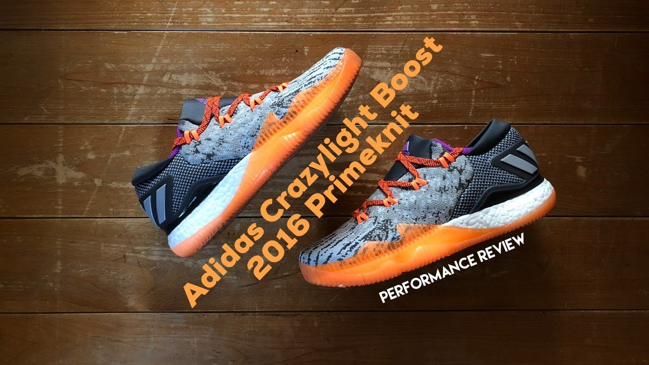size 40 959ec 4b29a Adidas Crazylight Boost 2016 Primeknit Review