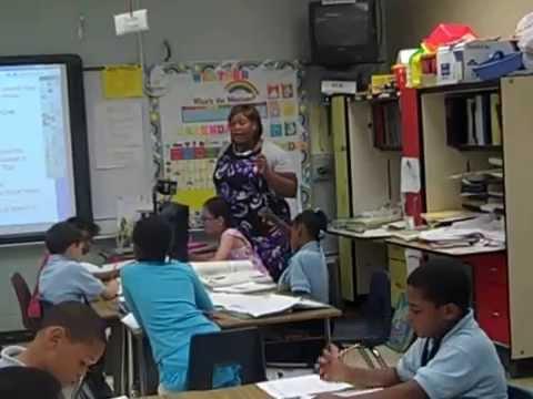 Antinea Ellis-Johnson Second Grade Lesson