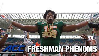 Miami DL Gregory Rousseau | ACC Football Freshman Phenoms